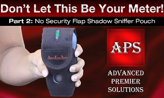 PART 2 NO SECURITY FLAP SHADOW SNIFFER POUCH