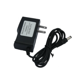 Charger, AC, Wall type, for Calan 3010R, 12V, 500mA, includes AC power cord and DC plug